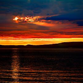 Adriatic sea, golden hour 2 by Hrvoje Kunović - Landscapes Travel ( adriatic, hdr, sea, landscape, golden hour )