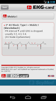Screenshot of EKG-card™