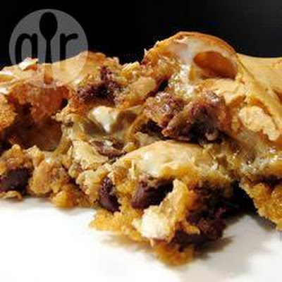 Chocolate Chip Marshmallow Blondies