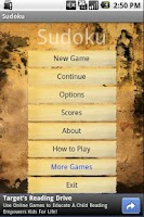 Screenshot of Sudoku - brain training