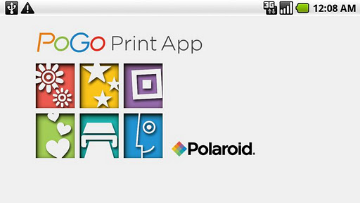 Polaroid PoGo Print App