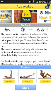 App 8 Minutes Abs Workout APK for Kindle