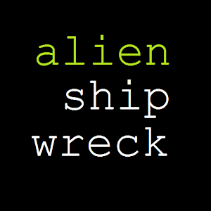 Alien Shipwreck text adventure