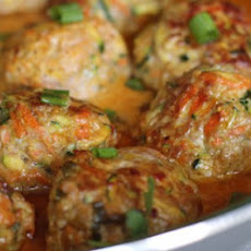 Thai Pork & Veggie Meatballs