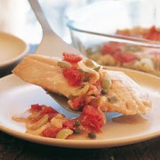 Spicy Snapper with Tomatoes and Olives