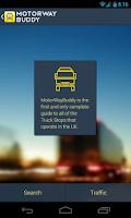 Screenshot of Motorway Buddy