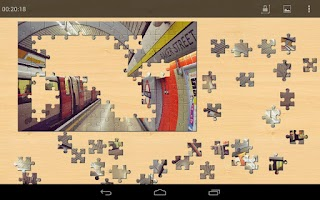 Screenshot of Transportation Jigsaw Puzzles