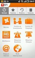 Screenshot of BPI Localizador Serviços