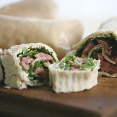 Flank Steak and Pepper Pinwheels