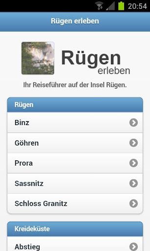 Rügen erleben - Reiseführer