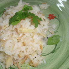 Turkish Pilaf With Vermicelli (Sehriyeli Pilav)