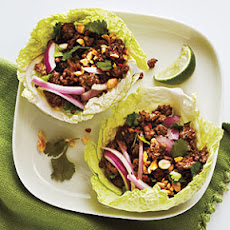 Thai Beef Cabbage Cups