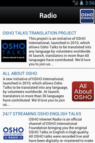 【免費生活App】OSHO Radio-APP點子