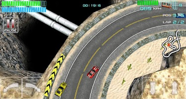 Screenshot of Alpha Wheels Racing