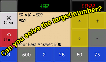 Screenshot of Countdown Game For Android