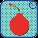 紅炸彈風格電子喜帖 icon