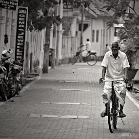 Galle by Gregor Znidarsic - City,  Street & Park  Neighborhoods ( galle, bike, biker, street, man,  )