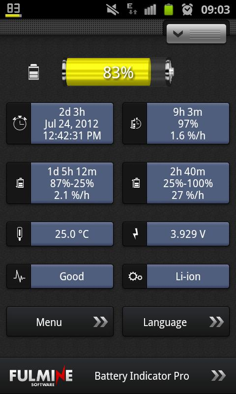 Battery Indicator Pro Screenshot 5