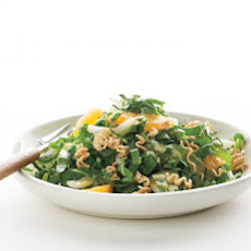 Citrus-Bok Choy Salad with Crisp Ramen