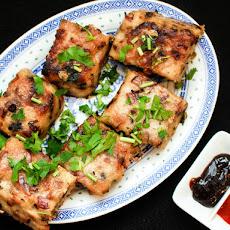 Deconstructed Vietnamase Chicken, Avocado + Lemongrass Spring Roll ...