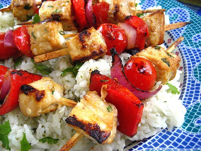 Citrus-Marinated Tofu With Onions And Peppers Recipes — Dishmaps