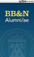 Screenshot of BB&N Alumni/ae Mobile