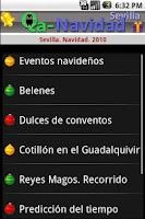 Screenshot of Sevilla Navidad