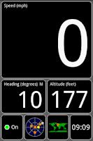 Screenshot of GPS Test