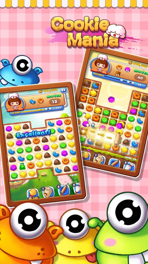 Cookie Mania - Halloween Sweet Game Screenshot 5