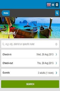 Thai Hotel Discount - screenshot