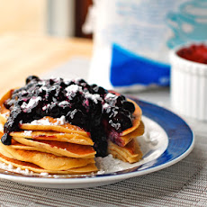 Easy Homemade Blueberry Sauce