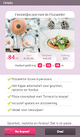 Screenshot of Shedeals - Deals voor vrouwen