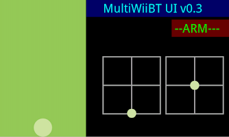 Screenshot of MultiWii BT Remote