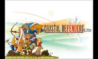 Screenshot of CRYSTAL DEFENDERS Lite