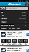 Screenshot of BodySpace - Social Fitness App