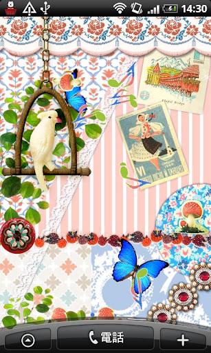 Live Wallpaper Singing Bird