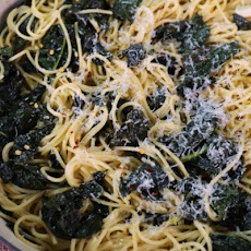 One-Pot Lemon Kale Pasta