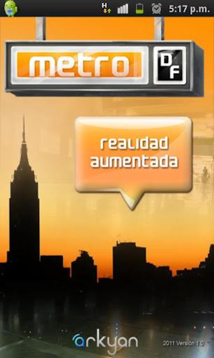 metroDF Realidad Aumentada