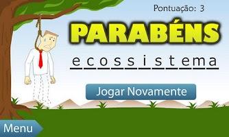 Screenshot of Jogo da Forca LITE (BR)