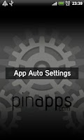 Screenshot of App Auto Settings