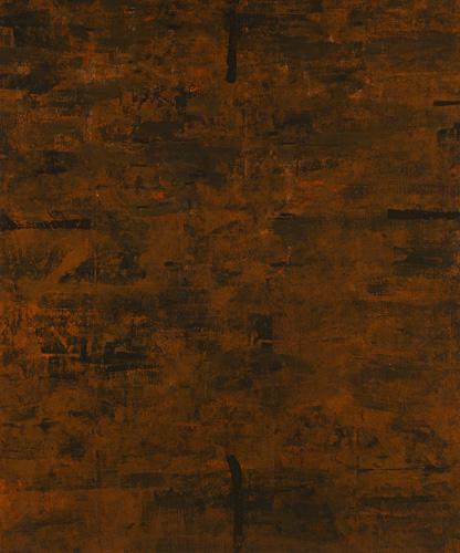 """<strong>Komyo II</strong> <br />Oil on canvas over panel <br />60"""" x 50"""" <br />2007"""