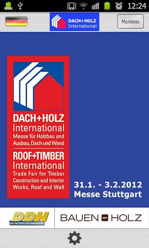 DACH+HOLZ 2012