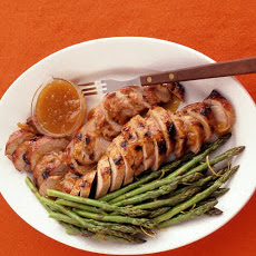 Apricot-Glazed Pork Tenderloin