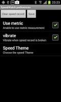 Screenshot of SmartSpeedWatch