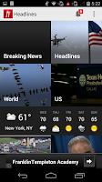 Screenshot of Headlines: Breaking News App