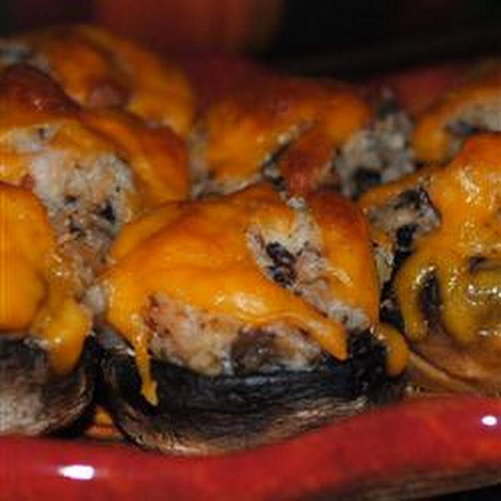 Shrimp Stuffed Mushrooms Recipe | Yummly