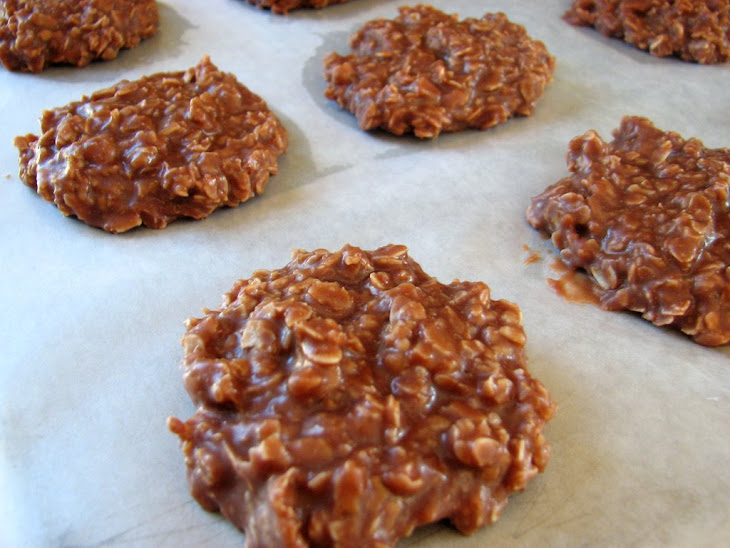 No-Bake Chocolate, Peanut Butter & Oatmeal Cookies Recipe | Yummly