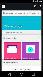 App Chrome Beta APK for Kindle