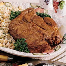 Chuck Roast with Homemade Noodles