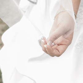 Bride hand by Lodewyk W Goosen-Photography - Wedding Other ( love, hand, kiss, married, wedding, hitch, couple, bride and groom, bride, marriage )
